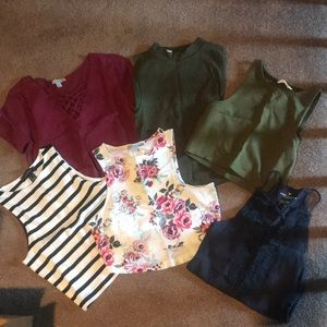 UNLISTED Crop Top Lot